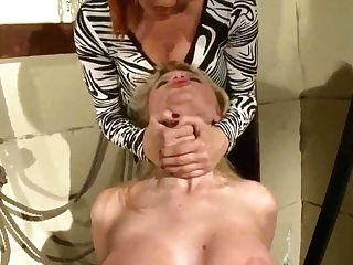 Natasha Brill Is Being Trained A Sexy Lesson By Hot Mistress Katy...