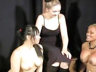 Lovely Asian Stunner In A Lesbo Domination & Submission Threesome